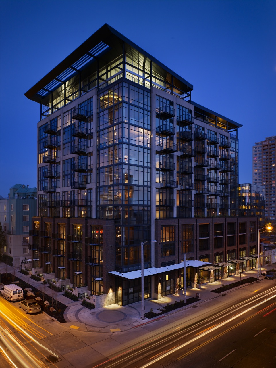 Mosler Lofts Architecture Style